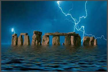 Stonehenge under water with global warming